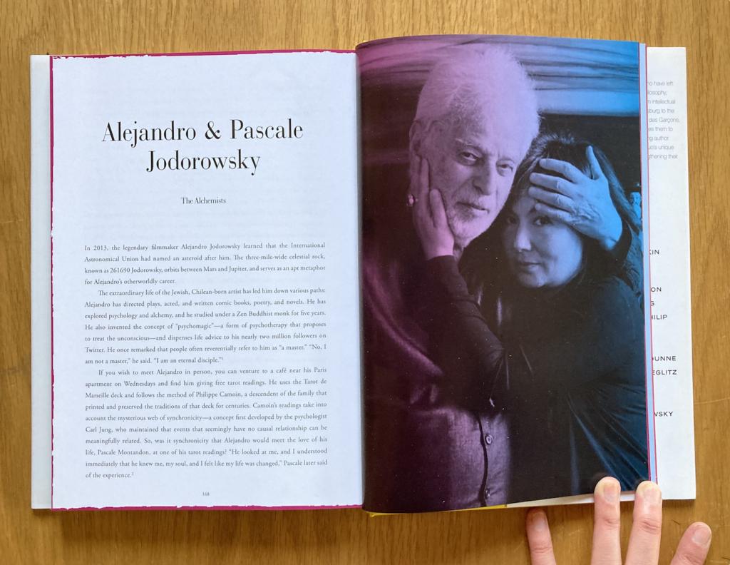 Alejandro & Pascale Jodorowsky